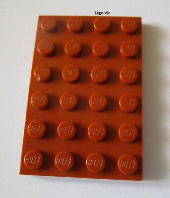 2x Plaque Plate 4x6 6x4 bleu azur//medium azure blue 3032 NEUF Lego