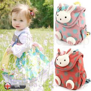 Baby-Toddler-Kids-Children-Cartoon-Rucksack-Backpack-Preschool-Small-School-Bag