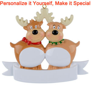 MAXORA-Reindeer-Family-of-2-3-4-5-6-7-Personalized-Ornament-Christmas-Gift