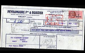 """OBJAT (19) USINE de MEUBLES Rotin & Vannerie """"PEYRAMAURE Freres & EGUIZIER"""" 1959 - France - État : Occasion : Objet ayant été utilisé. Consulter la description du vendeur pour avoir plus de détails sur les éventuelles imperfections. Commentaires du vendeur : """"correct"""" - France"""