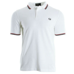 Vêtement Polos Fred Perry homme Twin Tipped