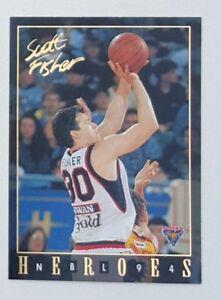 1994-Futera-NBL-Series-II-Australian-Basketball-Scott-Fisher-Heroes-NH13