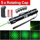 Super Green Laser Pointer Pen Clip Visible Beam Mark Direct 5 Mile power 1mw
