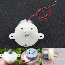 Electric Small Dc Gear Motors Mini Worm Slow Low Speed 9 32rpm Diy 50ma New