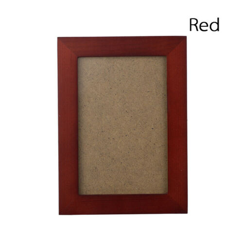 4x6//5x7//8x10cm Wooden A4 Photo Frame Family Wall Picture Holder Home Decor