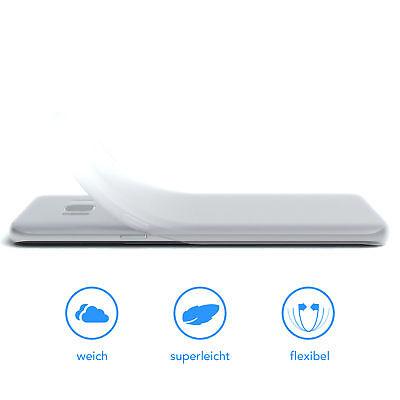 Schutz Hülle für Samsung Galaxy S8 Cover Handy Case Matt Transparent