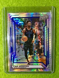 CAM-REDDISH-PANINI-PRIZM-ROOKIE-CARD-JERSEY-2-DUKE-99-SP-RC-2019-National-VIP