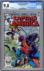 Captain America #282 CGC 9.8 (1983, Marvel) 1st App. of Jack Monroe as Nomad