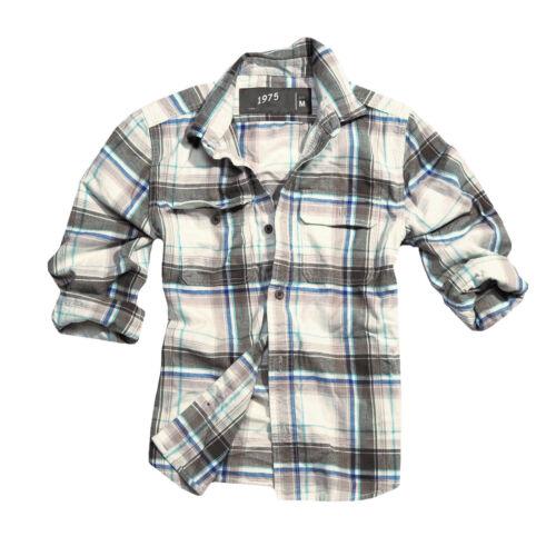 Surplus Raw Vintage Trooper Camicia Woodcutter LUMBERJACK jeans signore e signori