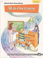 All-in-one Course For Children: Lesson, Theory, Solo, Book 3 (alfred`s Basic Pia on sale