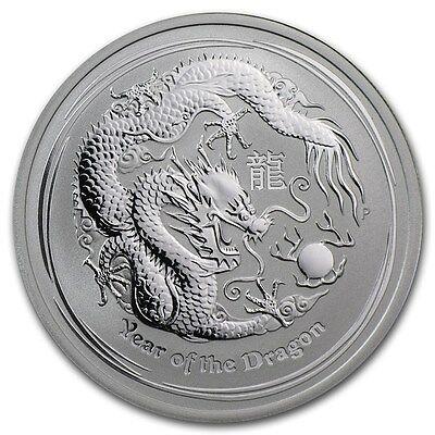 Australia $ 0.5 Lunar Series II Tiger 2010 1//2 oz .999 Silver Coin