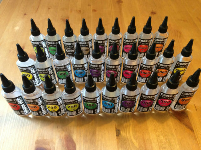 Core RC 100% Pure Silicone Oil For Diff/shocks All Grades In Stock 100-300,000