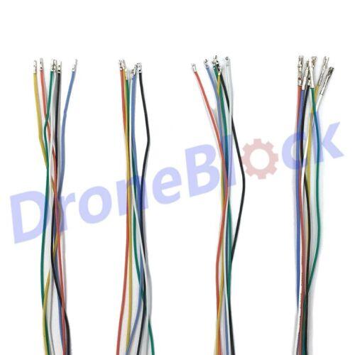 24Pcs JST GH1.25 pré-sertis câbles pour Pixhawk 4 pixracer Pixhawk 2 The Cube 10 cm