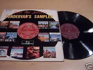 Zondervan-039-s-Sampler-034-Meet-The-Artists-034-ZLP-586-LP