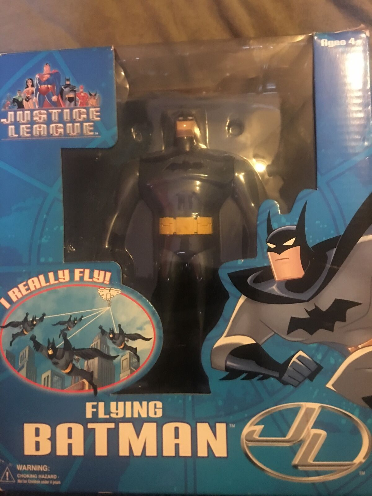 Justice league batman figure year 2003 really rare. None left like this