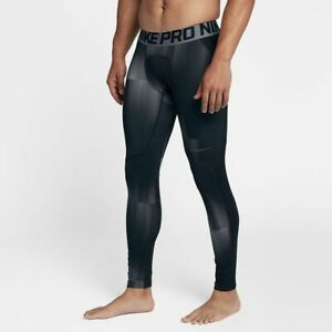 Details about NWT Nike Pro Hyperwarm GRAPHIC Compression Training Men's  Tights AQ4901-010 Sz M