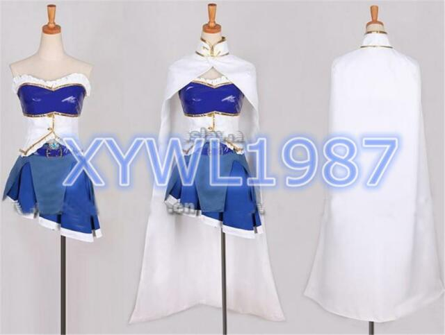 Puella Magi Madoka Magica Sayaka Miki Cool Cosplay Costume Good Made Outfit set