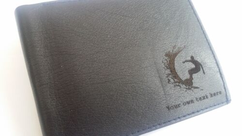ripcurl billabong merchandise gift surf Surfing personalised Leather Wallet