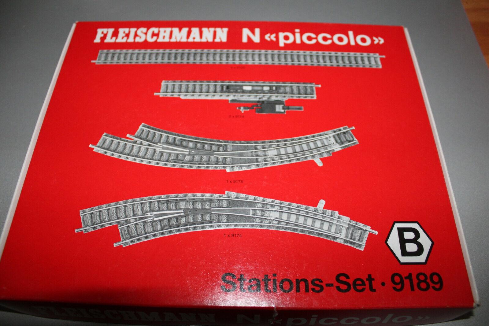 Fleischmann 9189 vía-set stationsset B pista n OVP