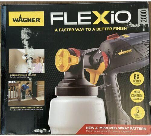 Wagner Spraytech FLEXIO 2000 Indoor//Outdoor Paint Sprayer 0529086 BRAND NEW Kit