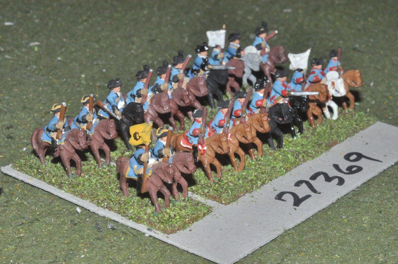 15mm 7YW   prussian - dragoons 20 figures - cav (27369)