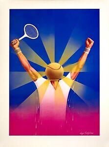 Tennis-Arms-In-The-Air-Original-Vintage-Print-by-Luigi-Castiglioni-c1983