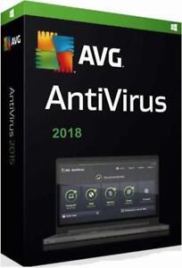 AVG-AntiVirus-Neuf-Version-2018-Pour-2-Pcs-Ou-Laptops-Et-Pour-1-An