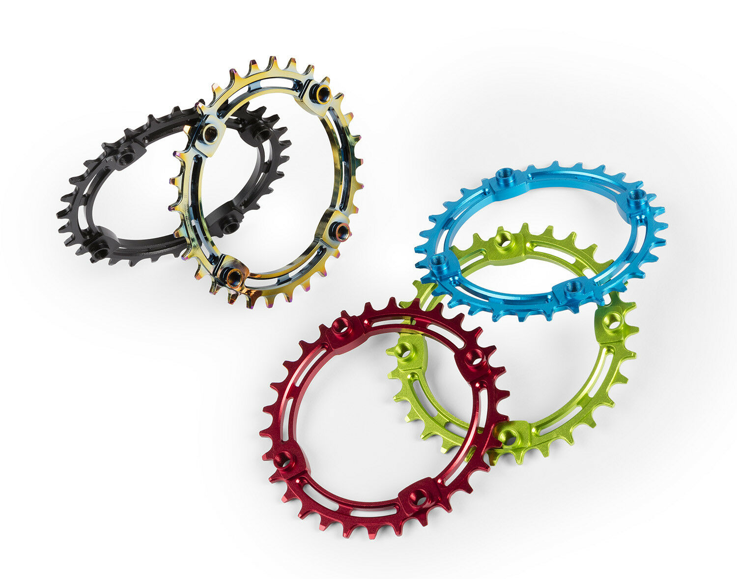 DARTMOOR Trail Chainring   Turquoise 34T