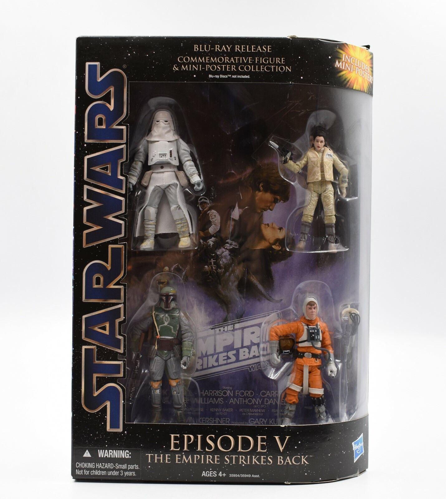 barato Estrella Wars episodio V El El El Imperio Contraataca Conmemorativa Figura Colección  selección larga