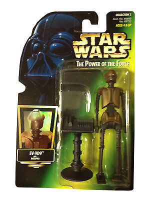 EV-9D9 WITH DATAPAD /& FREEZE FRAME ACTION SLIDE Star Wars 1997 The Power of the Force Action Figure /& Accessories Hasbro