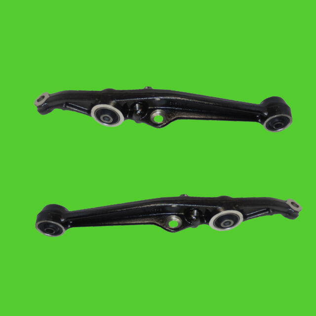 2 Front L & R Lower Control Arms Acura Integra Honda Civic Crx 1 Year Warranty