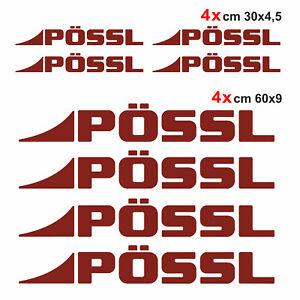 Kit-completo-8-adesivi-per-camper-Possl-AMARANTO-loghi-possl-caravan-roulotte