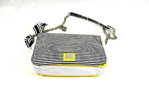 GIANFRANCO-FERRE-Designer-Tasche-Shoulder-Bag-Trendfarbe-gelb