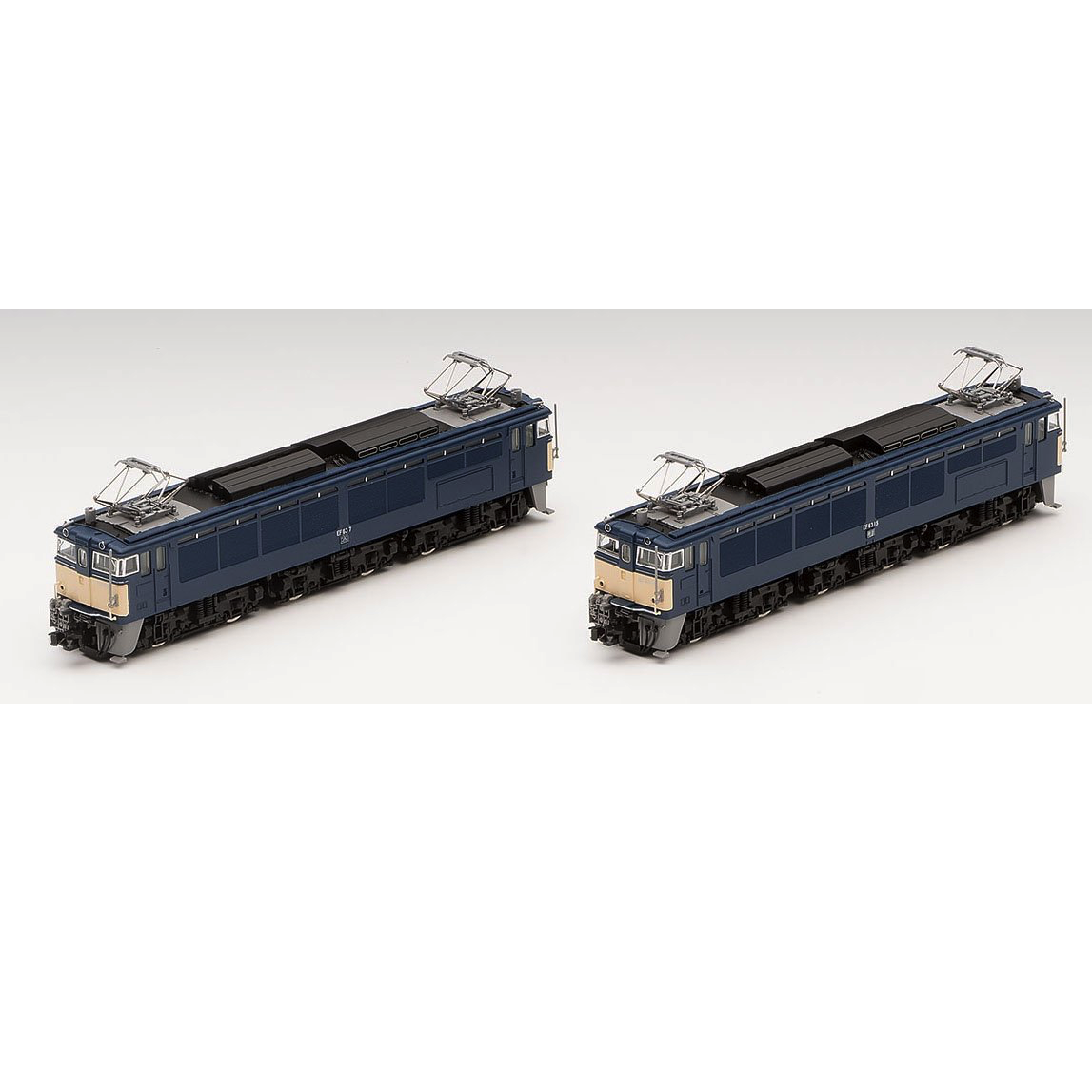 Tomix 98031 Electric Locomotive EF63 (first / second edition)  2 Trains Set - N