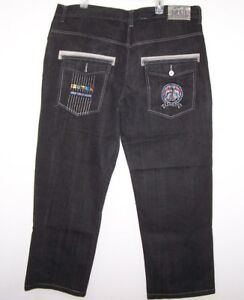 Hommes 33 42 Coupe Droite Jambe Blue Jeans Swagnificent X Taille Raw Relax wfBSSEq