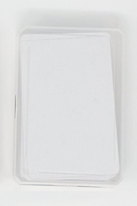 Blank Playing Cards to draw on and create your own game 1 x 60 Cards