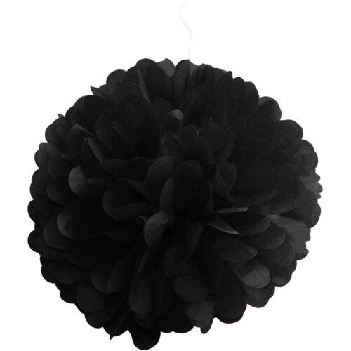 """6/"""" 8/"""" 10/"""" 12/"""" 15/"""" Boule Papier Pompons fleurs tissu décoration Mariages Fête"""