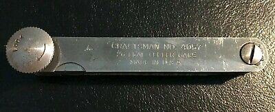 Feeler Gage Set Vintage Duro Chrome No 221
