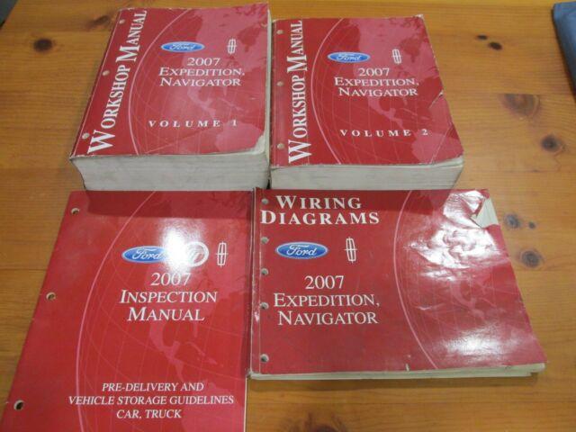 2007 Expedition Navigator Service Repair Manual Set