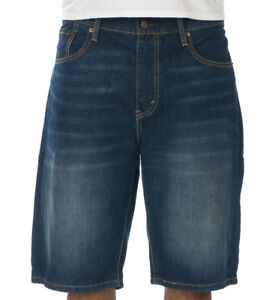 51e570ee Levis 569 Loose Straight Men's Denim Shorts, Flat Front (355690174 ...