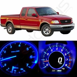 Details about Blue LED Kit Instrument Gauge Cluster Panel Light Bulbs for  2004-2008 Ford F-150