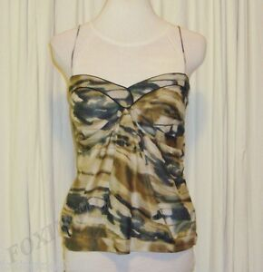 BEAUTIFUL-SASS-amp-BIDE-CAMOUFLAGE-PRINT-SILK-BLEND-CAMI-TOP-42-6-AUS-12