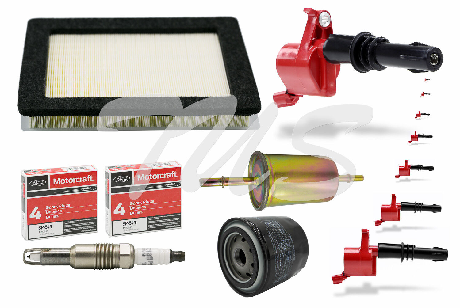 Tune up Kit 2007-2008 Ford F150 5.4l High Performance Ignition Coil Dg511 Sp546 for sale online