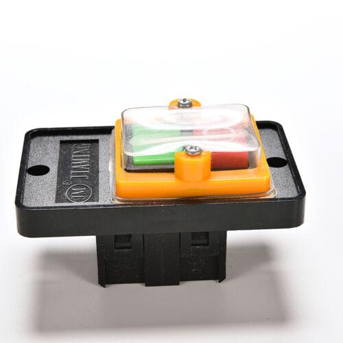 10A 380V KAO-5 Kunststoff wasserdicht Schalter Taste Maschine Bohren Schalter ZP