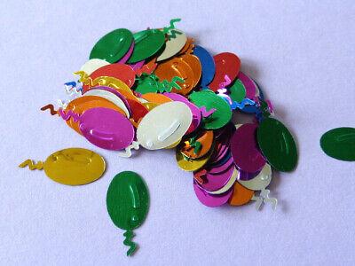 100 Ballons Streuelemente Streudeko  Kartengestaltung  Basteln  Multicolor