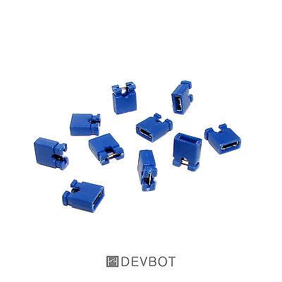 pas de 2,54 mm Jumper CM HD Pi DIY Lot de 10 à 100 Cavaliers Blanc Arduino