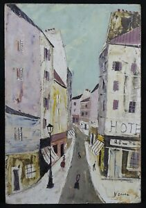 Charles-Lever-1920-2004-Rue-of-Montmartre-Paris-Corsican-Hollywood-Rothschild