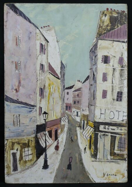 Charles Lever (1920-2004) Rue of Montmartre Paris Corsican Hollywood Rothschild