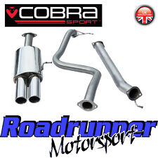 "FD51 Cobra Sport Fiesta ST180 MK7 Exhaust System Cat Back 2.5"" Non Res Twin Tail"