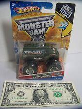 Hot Wheels  #24/80 w/TATTOO ** Covert Crasher ** MONSTER Jam VAN Rare - 2011